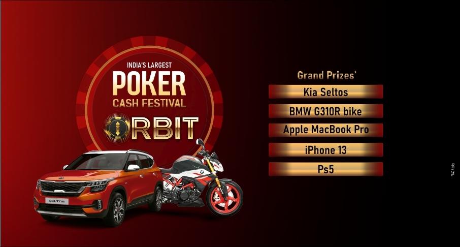 ORBIT | Poker Cash Festival