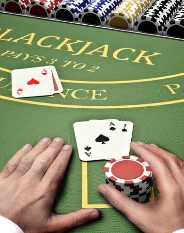 Deltin Blackjack Game