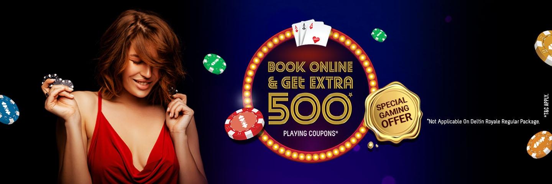 Book Online | Get 500 Extra